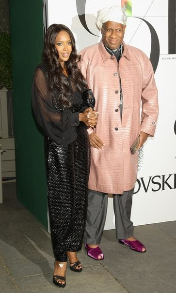 Naomi Campbell ve André Leon Talley